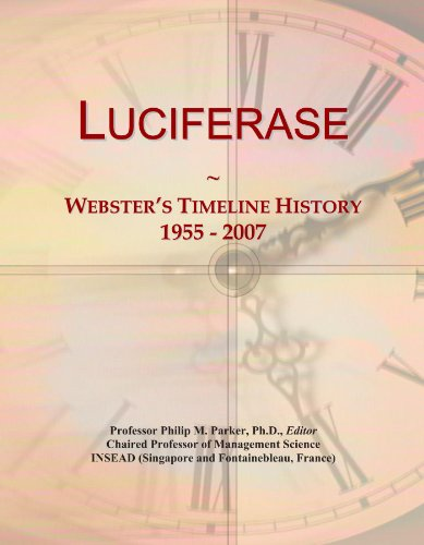 Luciferase: Webster's Timeline History, 1955 - 2007