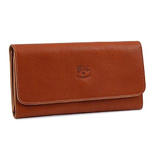[イルビゾンテ] IL BISONTE 財布 レディース C0775-P 145 長財布 CARAMEL [並行輸入品]