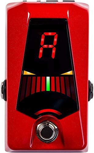 KORG PB AD RD Pedal Tuner for Guitar Bass Pitchblack Advance RD Sparkle Red product image