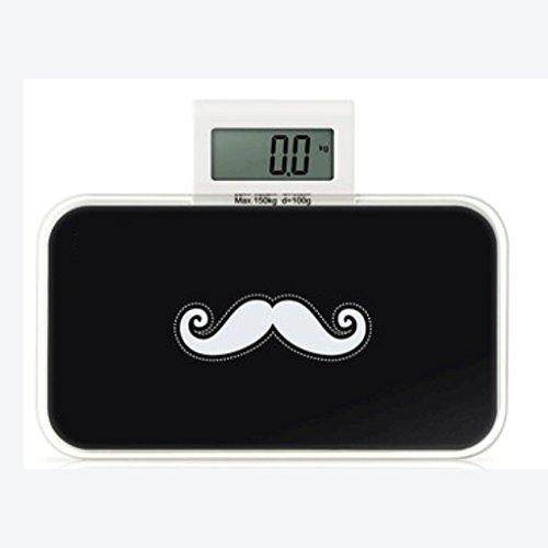 Weighing scale Digitale Elektronische Waage Gesundheitswaage Mini-Gewichtsmesser Körpergewichtswaage Elektronische Waage Cartoon-Klemme, elektronische Aufzeichnung C