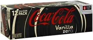 Coca-cola Zero Vanilla Calorie Free, 144 Fl. Oz (Pack of 2)