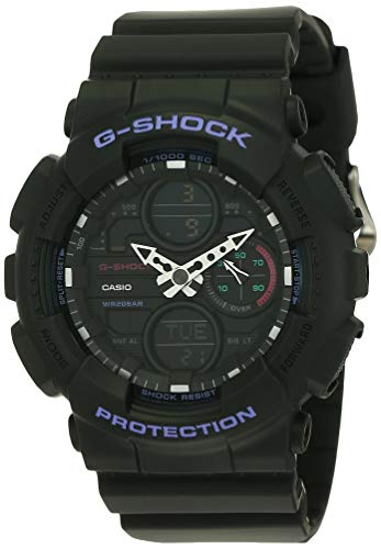 Casio G-Shock S-Series Analog-Digital Black Dial Women's Watch-GMA-S140-8ADR