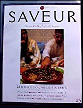 Saveur Magazine March 1998 Number 25 Morocco cuisine, Mariache food, Crab, Scotch Whisky, A Chinese Noodle Primer, handmade knives