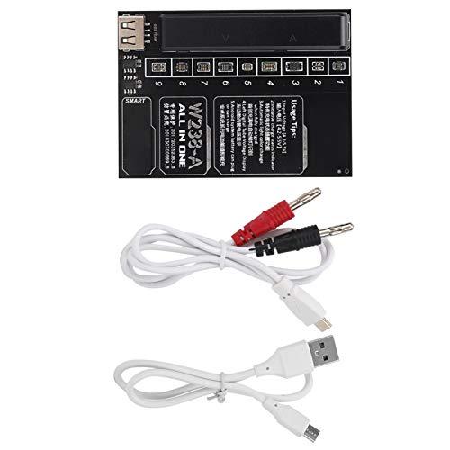 Socobeta con cable USB Cargador de batería Junta de carga rápida Junta de activación de batería Apagado automático Prueba eléctrica para carga de batería incorporada (W238-A)