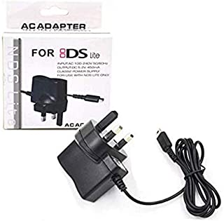 NI5L AC Adapter UK Travel Charger for Nintendo DS Lite NDSL UK AC to DC USB Charger Generic Travel Charger
