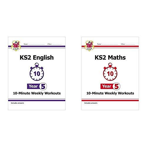 KS2 Maths and English 10-Minute Weekly Workouts Bundle - Year 5