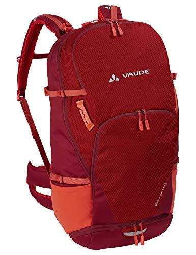 VAUDE Rucksäcke30-39l Bike Alpin 32+5, Geräumiger Mehrtages- und Alpencross-Rucksack für Mountainbiker, salsa, one Size, 129487950