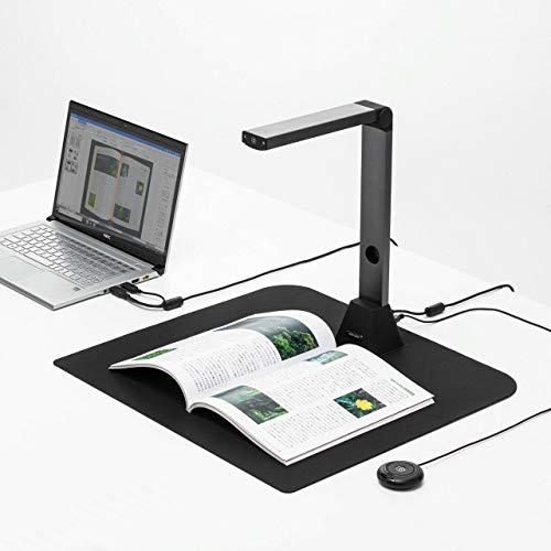 サンワダイレクト スキャナー USB書画カメラ 【Zoom/Skype/Teams/Webex対応】 1200万画素 A3対応 連続スキャン 歪み補正 オートフォーカス OCR 手元シャッター 400-CAM069