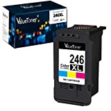 Valuetoner Remanufactured Ink Cartridge Replacement for Canon Cl-246Xl CL-244 to use with Pixma MX492 MX490 MG2420 MG2520 MG2522 MG2920 MG2922 MG3022 MG3029 (1-Color)