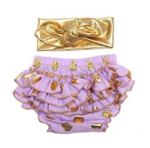 micia luxury(ミシアラグジュアリー) ベビーおむつカバー&ヘアバンド ケーキスマッシュ ハーフバースデー 誕生日 ギフト 6month ラベンダー