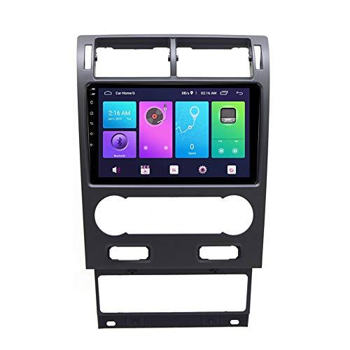 XXRUG Android Car Stereo Sat Nav para Ford Mondeo 2004-2007 Unidad Principal Sistema de navegación GPS SWC 4G WiFi BT USB Mirror Link Carplay Incorporado