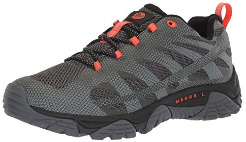 Merrell Men's Moab Edge 2 Waterproof Sneaker, Monument, 12 M US
