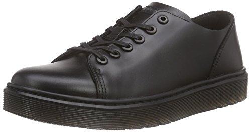 Dr.Martens Womens Dante Brando Black Leather Shoes 8.5 US