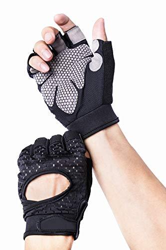Avril Tian atmungsaktiv Ultralight Gewicht Lifting Sport Handschuhe, Trainings Gym Handschuhe Unterstützung für Powerlifting, Cross Training, Fitness, Bodybuilding, Best für Herren und Damen, M