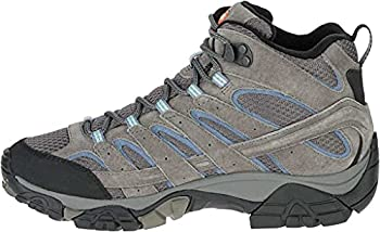 Merrell Women s Moab 2 Mid Waterproof Hiking Boot Granite 8 M US