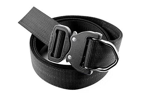 Klik Belts Tactical Riggers Belt -2 PLY 1.5' D-Ring Riggers Belt - Unisex