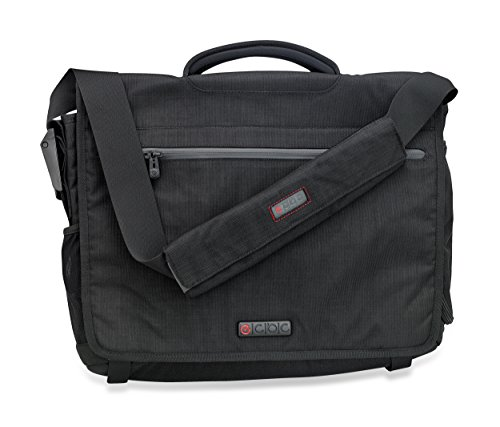 ECBC 18.5 Inch Zeus Messenger Bag Lightweight Business and Travel Messenger Bag