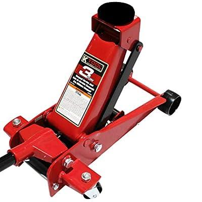 K Tool International 3 Ton Compact Floor Jack Service Jack KTI63131A