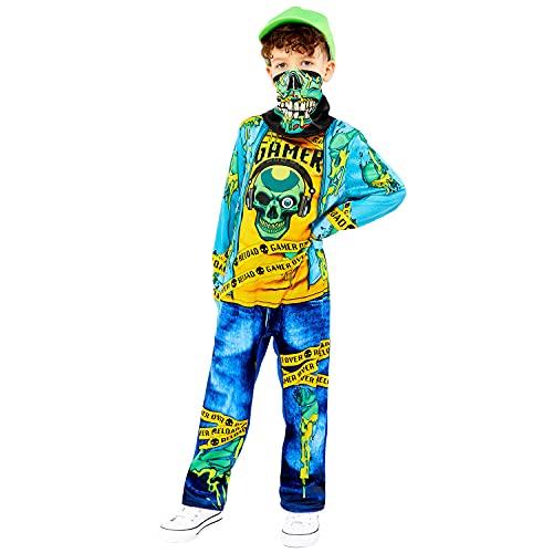 amscan 9911994 - Disfraz de zombi para nios de 4 a 6 aos