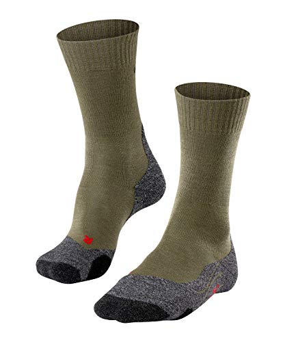 FALKE Herren TK2 M SO Wandersocken, Grün (Olive 7830), 42-43 (UK 8-9 Ι US 9-10)