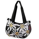 KLICKfix Damen Stylebag Lenkertasche, Margarite, 4 Liter