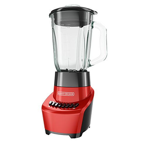 BLACK+DECKER FusionBlade Blender with 6-Cup Glass Jar, 12-Speed Settings,...