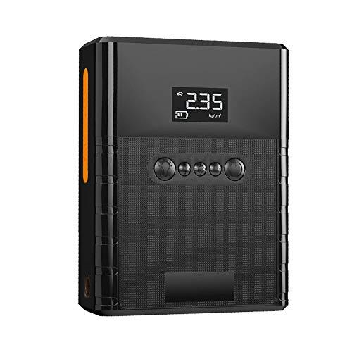 LJXLXY Banco energía Cargador Batería Coche Arrancador de Salto de Emergencia12V 12000A para Coche 6.0L Gasolina o 5.0L Diesel 2 Puertos USB Linterna LED Teléfono móvil Tableta