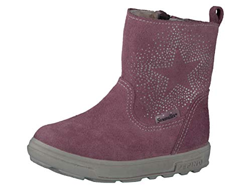 RICOSTA Pepino Mädchen Winterstiefel Cosi, WMS: Mittel, wasserfest, Winter-Boots Outdoor-Kinderschuhe lammfell-Stiefel warm,Sucre,27 EU / 9 UK