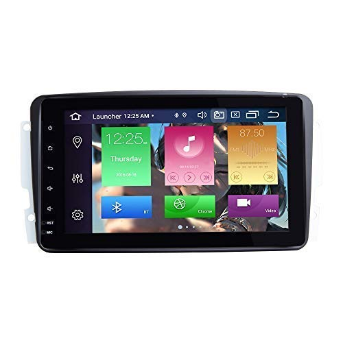 per Mercedes Benz A-W168 C-W203 Classe G W463 Viano Vito W639 Android 10.0 Octa Core 4GB RAM 64GB Rom 8'Autoradio Stereo Sistema GPS Car Multimedia Player Support Car Auto Play/TPMS / 4G WiFi