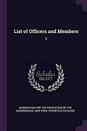 List of Officers and Members: 2