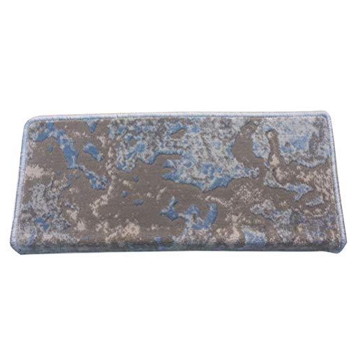 GFPR Tappeti per Scale Antiscivolo tappetini Protector Pads Coprigradini per Scale per Scale in Legno massello, Scale in Marmo e Piastrelle 65 * 24 * 3 cm D