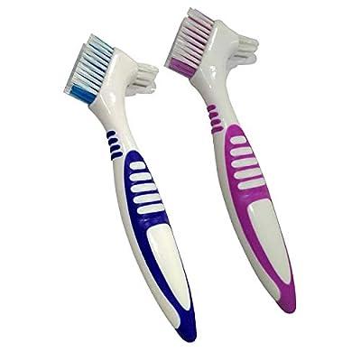 KISEER Pack Denture Brush