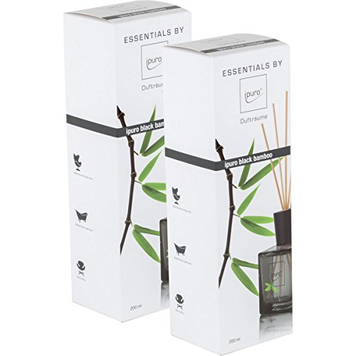 Essentials by Ipuro Black Bamboo 200ml Durfträume (2er Pack)