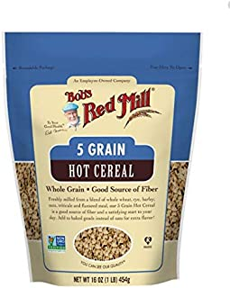 Bob's Red Mill 5 Grain Rolled Hot Cereal, 16 Oz
