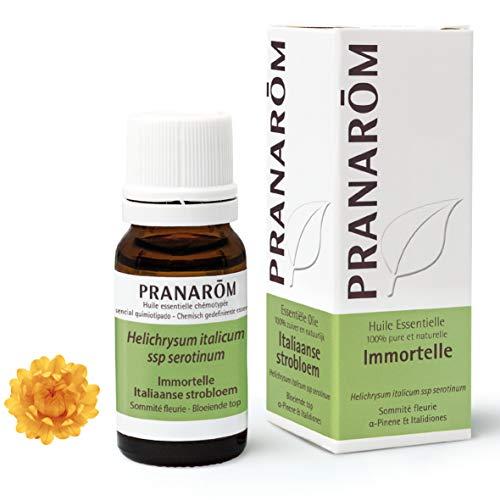 Pranarôm |Huile Essentiell Immortelle|Hélichryse Italienne| Helichrysum italicum | Sommité Fleurie | HECT |10 ml |
