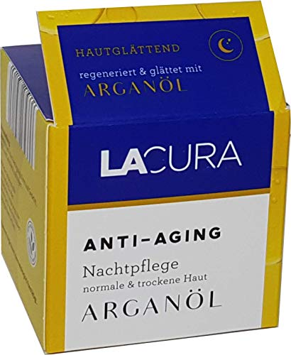 LACURA ARGANÖL Anti-Aging Nachtpflege 50 ml