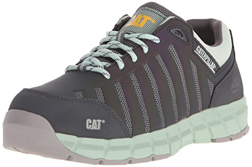 Caterpillar womens Chromatic Oxford Athletic Comp Toe, Cameo Green, 7.5 M US