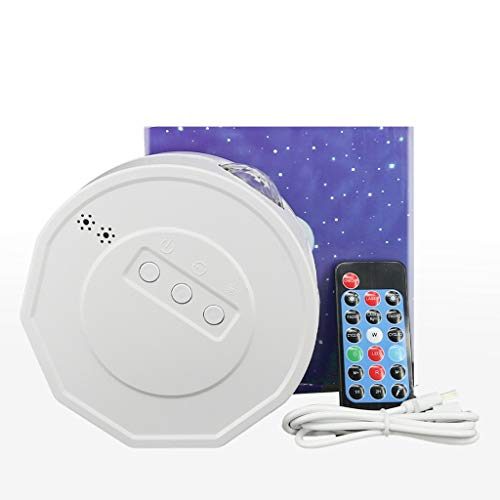 Star Projector, Night Light Projector with Remote Control, LED Lightful Night Sky Projector Lamp Ocean Wave Star Light Room Romantic Decor-NANGYANG