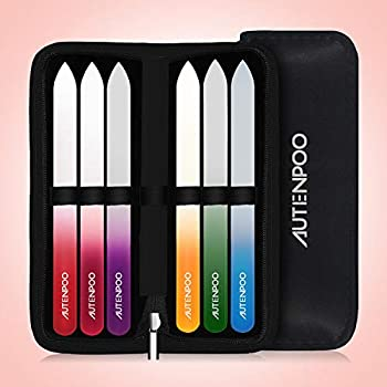 6-Pieces Autenpoo Nail File Professional Nail Kit