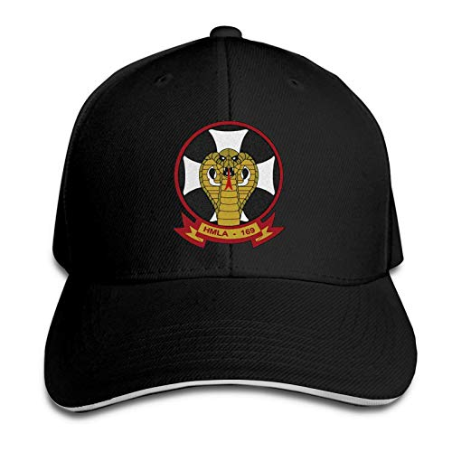 FOREVER ME 1st Marine Division Marine Light Attack Helicopter Squadron 169 Herren Relaxed Medium Profile Adjustable Baseball Cap