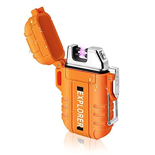 lafagiet USB Rechargeable Lighter, Waterproof Arc Lighters...