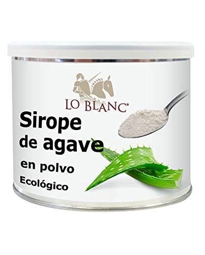 Sirope de agave ecológico Lo Blanc - 250 g en polvo