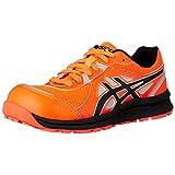 [アシックス] ワーキング 安全靴/作業靴 ウィンジョブ CP206 Hi-Vis JSAA A種先芯 耐滑ソール 高視認 αGEL搭載 ショッキングオレンジ/ブラック 27.0