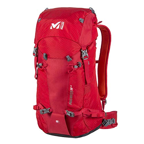 MILLET Unisex-Adult PROLIGHTER30+10 Rucksack, Red - Rouge, 40