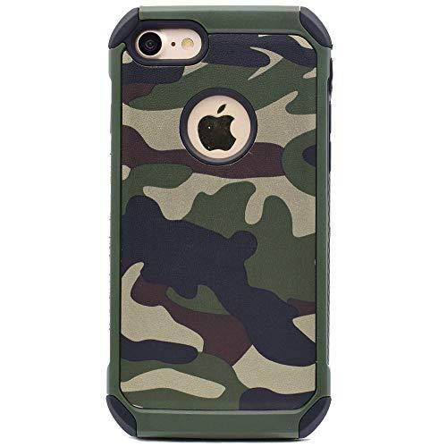NETONBOX MX Funda para iPhone 6 / iPhone 6s Tipo Camuflaje Uso Rudo Antigolpes para iPhone 6 / 6s Army…