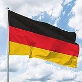 Deitert Bandera de Alemania – 80 x 120 cm, bandera de Alemania – bandera de Alemania – Bandera de izar de poliéster resistente