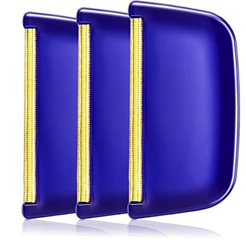 3 Packungen Pullover Kaschmir Kamm Wolle Stoffrasierer Kunststoffgriff Pilling Flaum Fusselentferner Manuell Tragbare Kleidung Pinsel Werkzeug zum Entpilling Kleidung Kleidungsstücke
