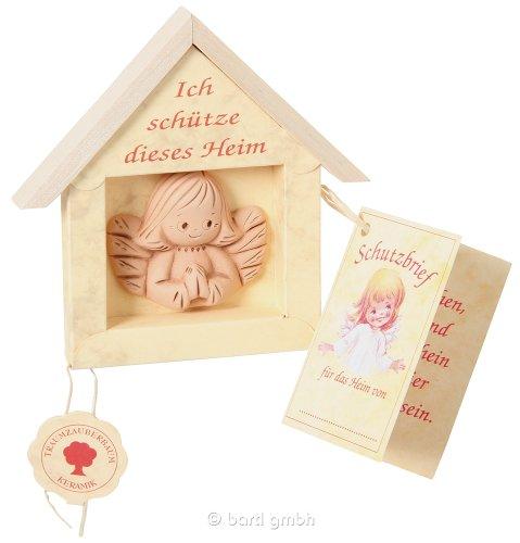 Schutzengel für Dein Zuhause Ton-Engel bewacht Dein Heim