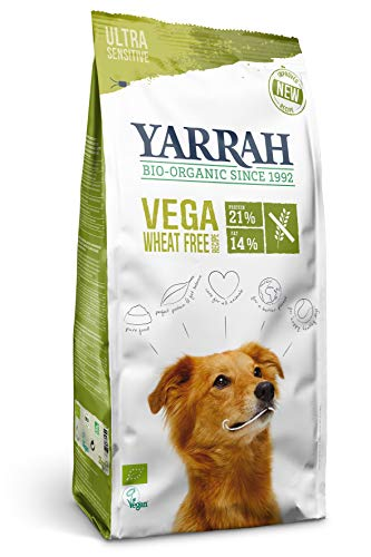 Yarrah Bio Hunde Trockenfutter Vega Weizenfrei, 3er Pack (3 x 2000 g)