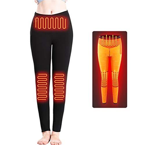 Xin Hai Yuan Calefacción Ropa Interior Femenina Pantalones térmica USB Ligero eléctrico infrarrojo térmico Ropa Caliente Riding Caliente al Aire Libre para el Invierno de esquí y Campamento,XL
